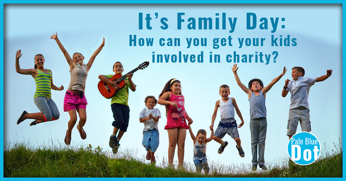 It's Family Day: How can you get your kids involved in charity?
