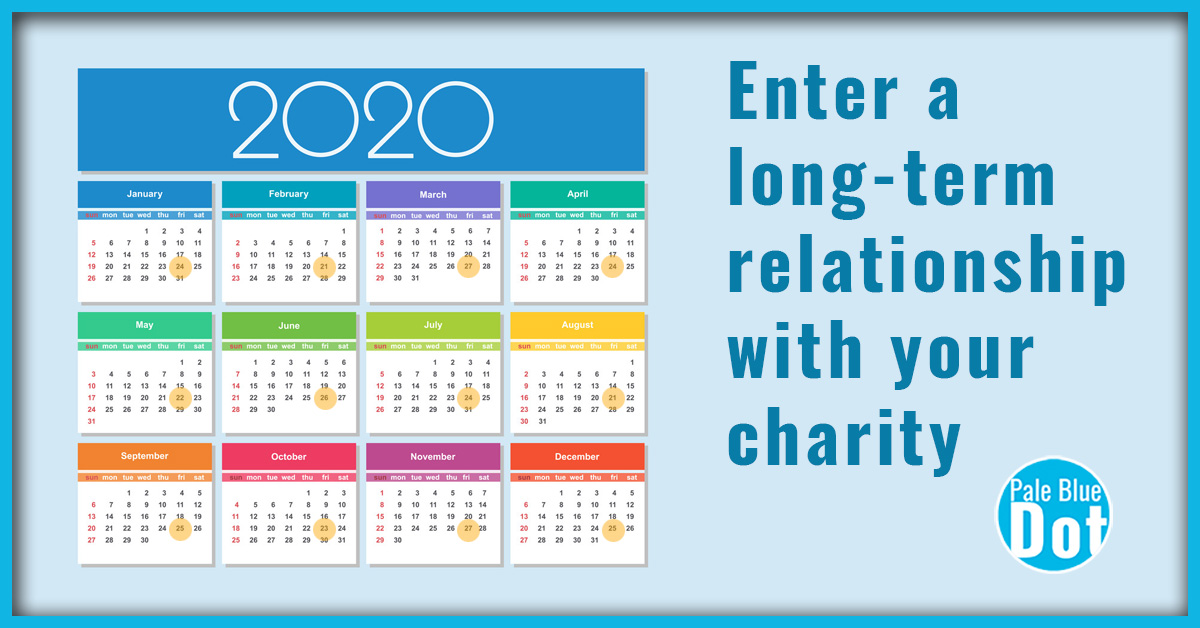 Enter a log-tern relationship with your charity