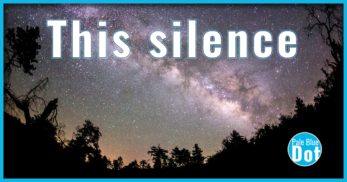 This silence